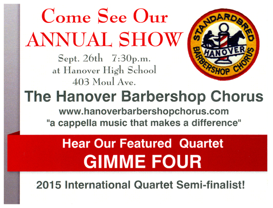 Annual Barbershop Show